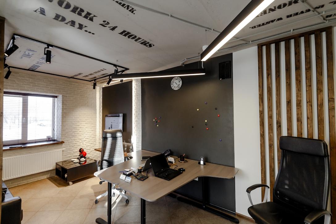 Светодиодное освещение Офис транспортной компании