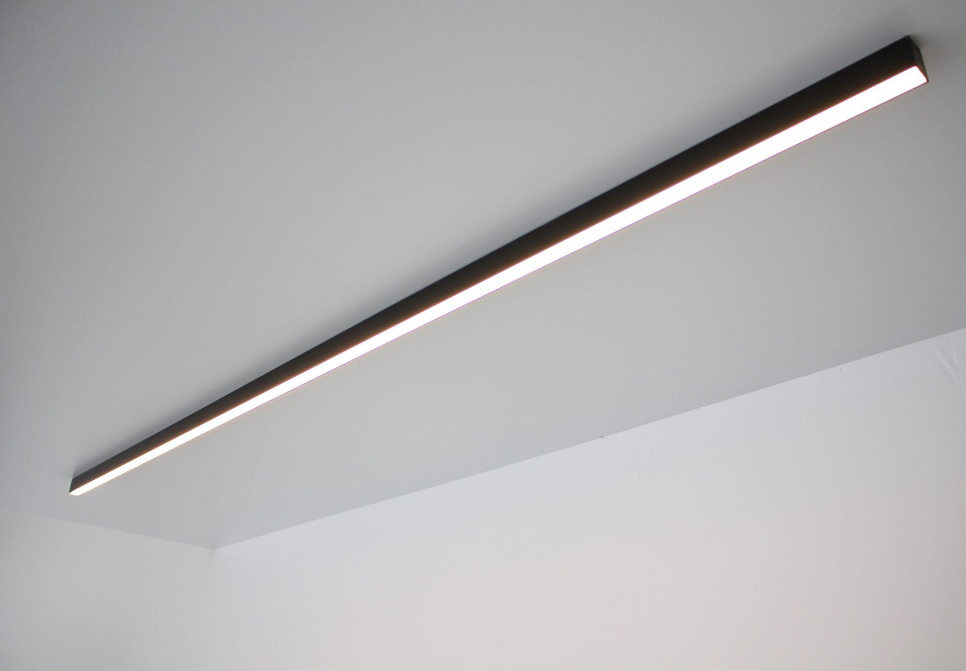 Светодиодное освещение Светодиодные накладные линейныесветильники